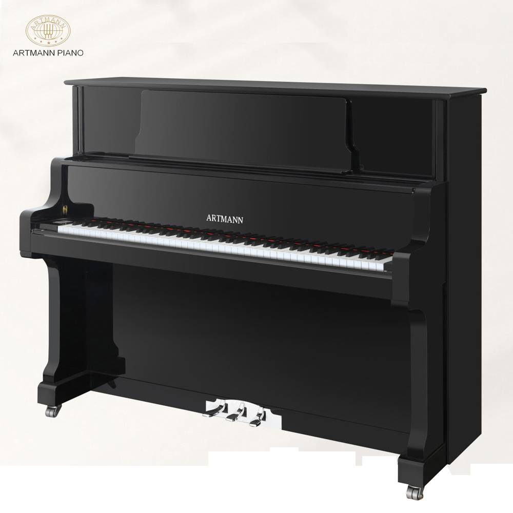 New Arrival Artmann UP-126A2 88 keys slow fall board upright vertical piano