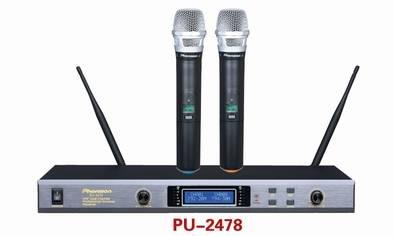 PU-2478 Sync IR UHF Wireless Microphone