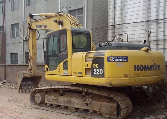 Used Japan Original Komatsu PC200-8 Crawler Excavator