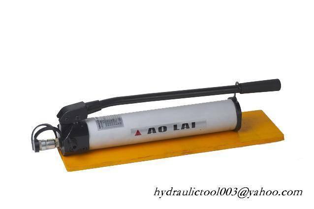 hydraulic hand  pump with hand operated