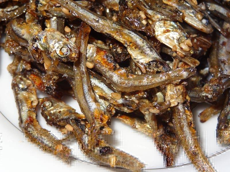 Dried Anchovy - Dried Salted Anchovy - Dry Anchovy