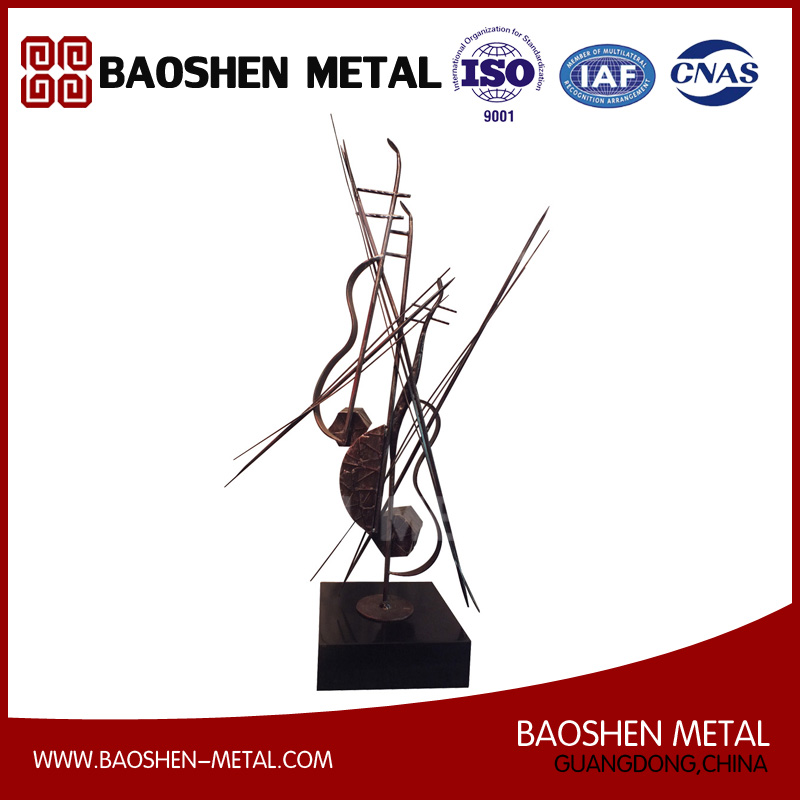 Modern & Abstract Playing The Violin Design Exquisite Made Table Decoration