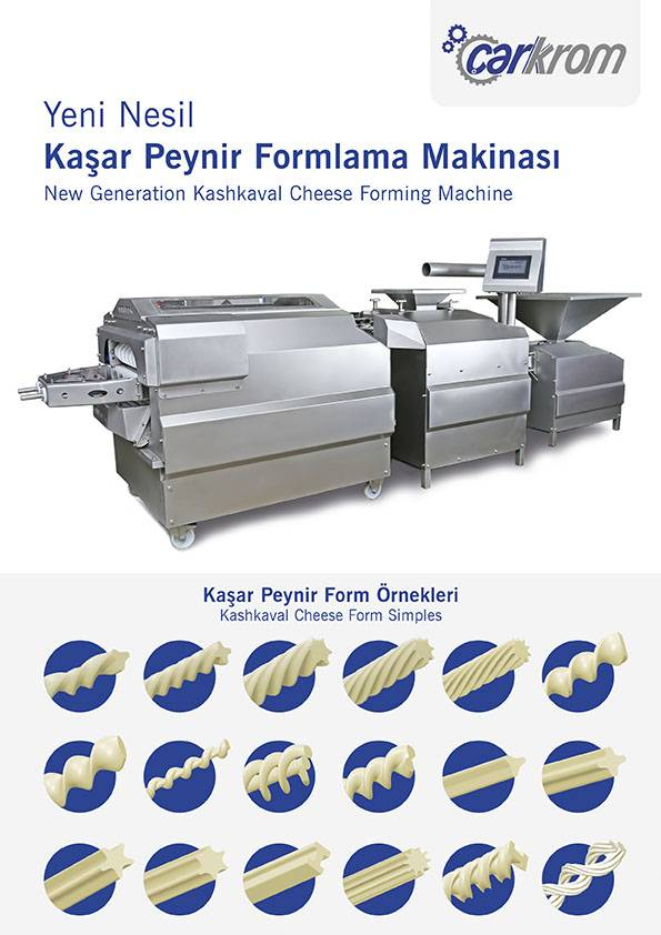kashkaval cheese forming machine