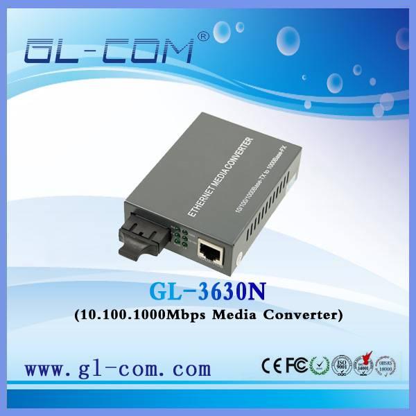 Etherent Media Converter 10/100/1000M Base-TX