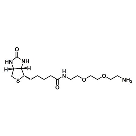 (+)-Biotin-PEG2-amine;(+)-Biotin-PEG2-NH2;CAS#138529-46-1