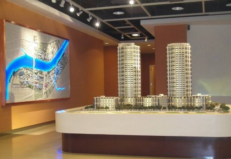 1:80 Scale Physical Architectural Model Making