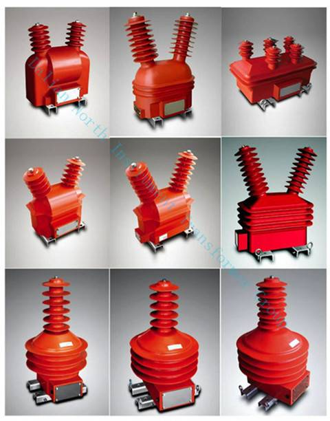 Outdoor instrument transformer used in the pole-mounted switch (15-40.5KV)