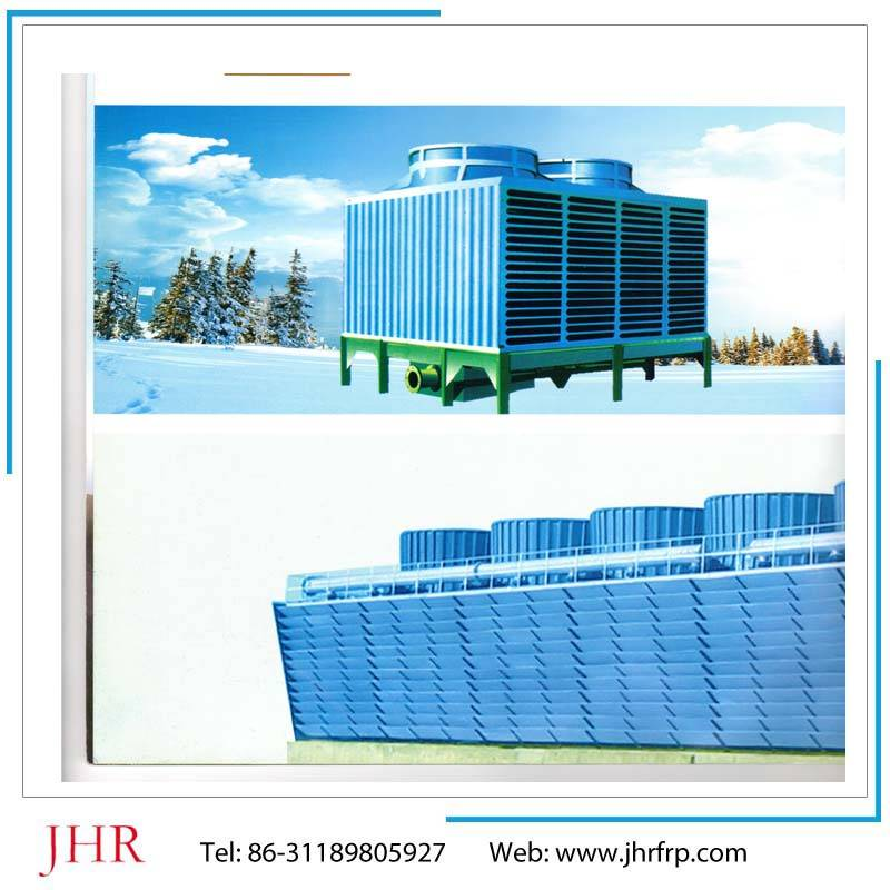 low noise type and ultra low noise type cooling tower