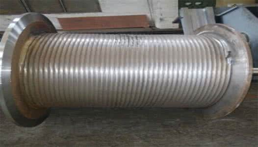 Polygonal wire metal line drum