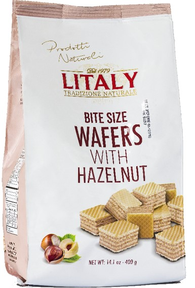 Litaly Hazelnut Bite Size Wafers