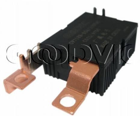 Single coil latching relay