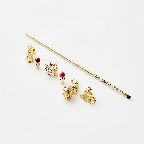 Separable and replaceable Hair bar SET