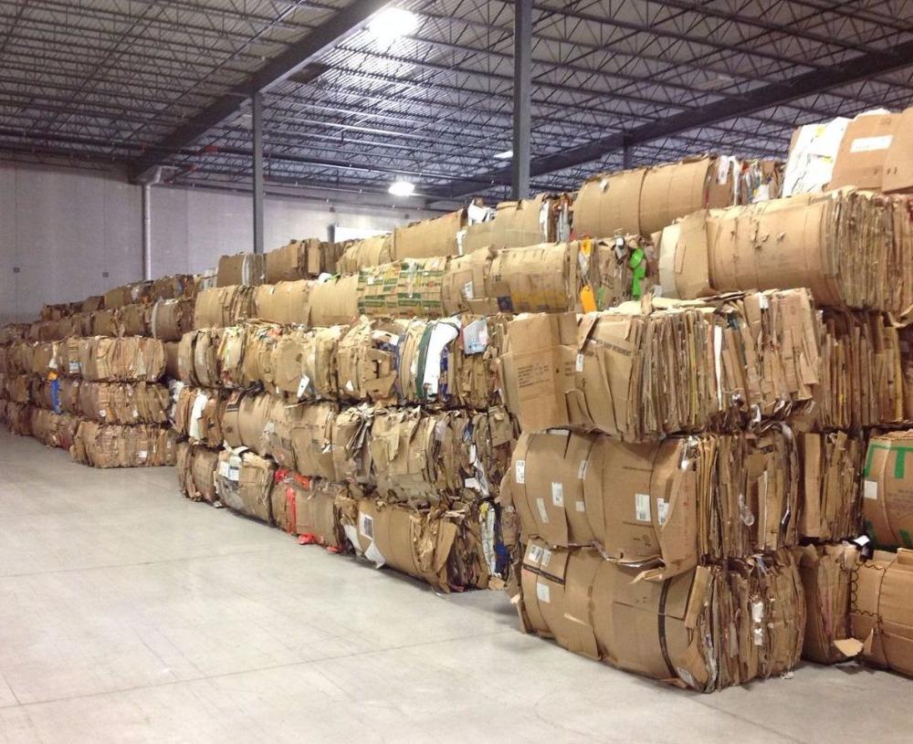 OCC Waste Paper - Scraps 100% Cardboard