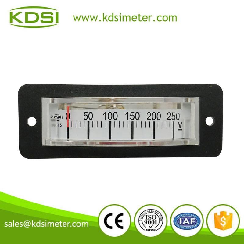 China Supplier BP-15 DC250V panel mount voltmeter