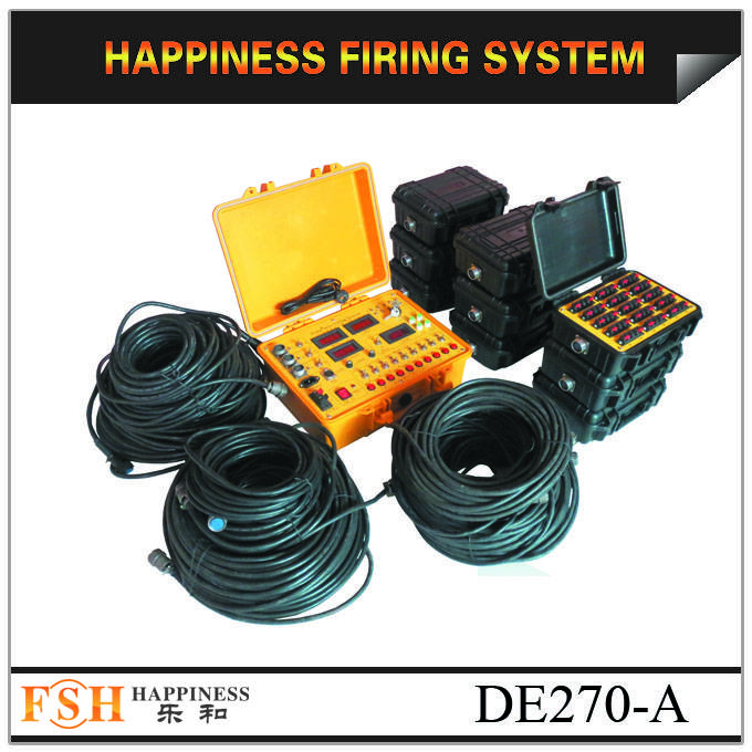 Waterproof case, 270 channels fireworks firing system, sequential fire fireworks firing system, fire