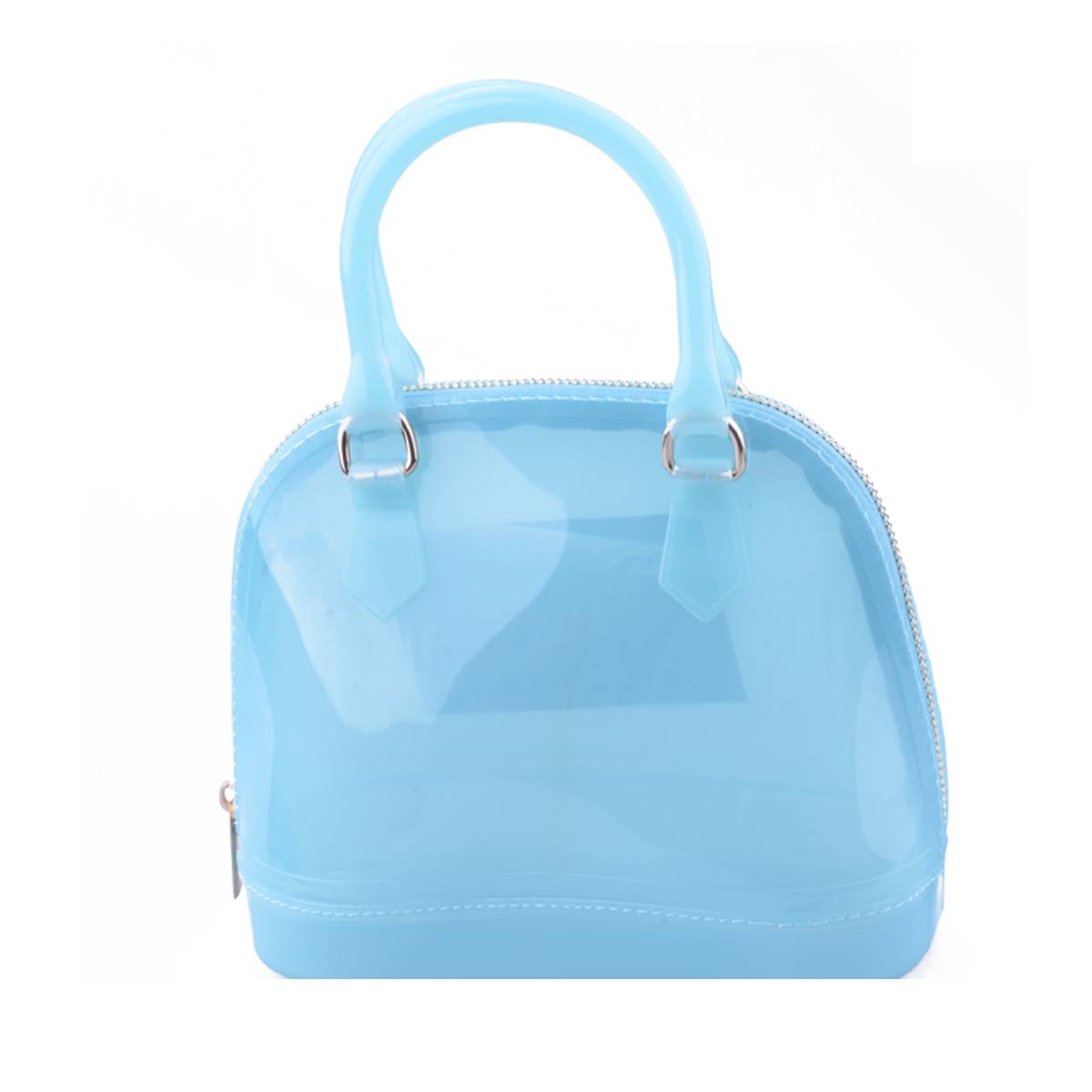 Fashion Waterproof Beach Bags Women Shopping Silicone Handbags