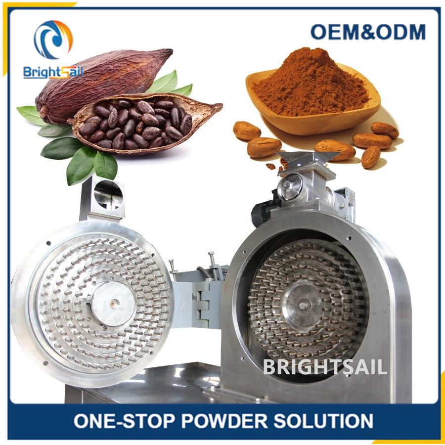 High efficient cocoa bean powder pin mill