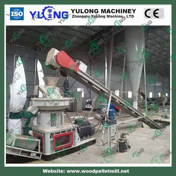 Industrial wood sawdust/ straw/ reed/hard wood/ rice husk pellet mill machine 5 ton per hour