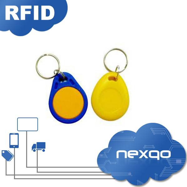 Colorful RFID key fob for access control