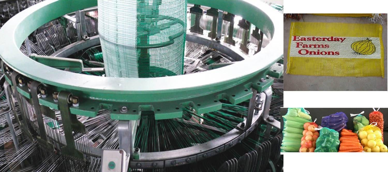 Leno mesh bag Circular Loom machine for fruits and vegetables