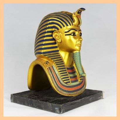 Ancient Egyptian Antique Item Resin King Tut Statue