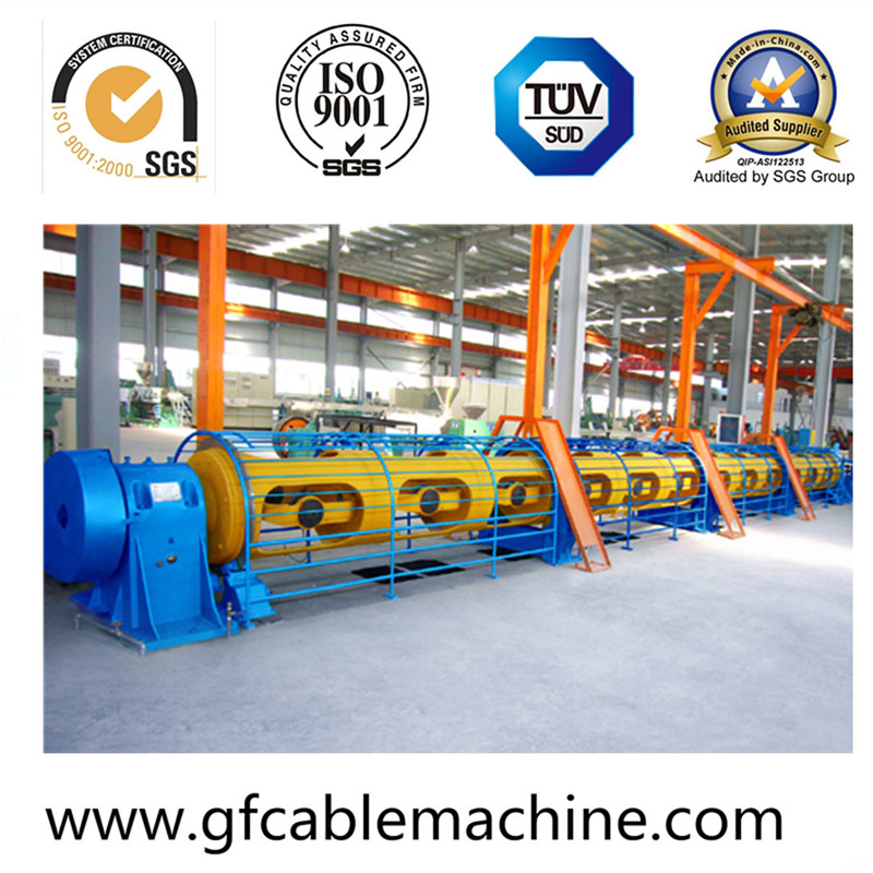 Auto Metal Tubular Stranding Wire Cable Machine