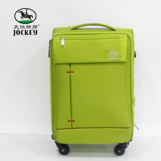 Trolley case soft with elegant pattern