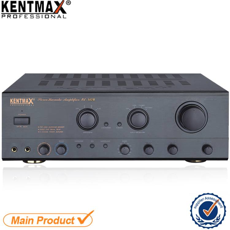 High Performance Standard Professional Audio 2.0 Channel Power Amplifier
