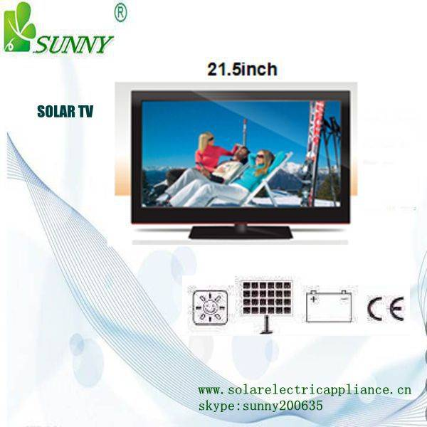 SOLAR POWER MONITOR AND TV