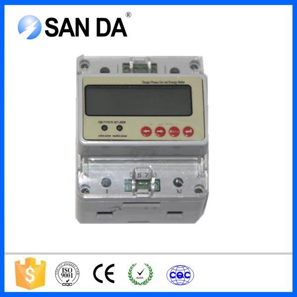 Adjustable Modbus Single Phase Digital Energy Meter