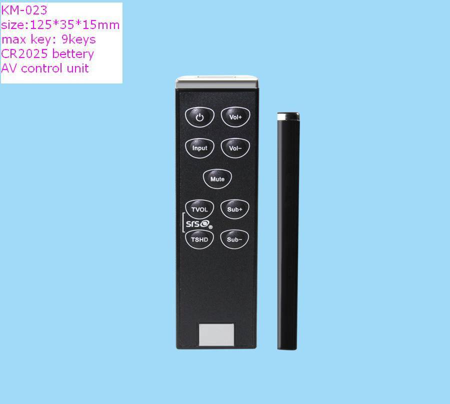 mini blister car DVD/VCD remote control