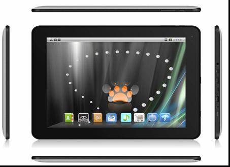 9.7 Inch Multi-touch MID with RK3066,Android4.0,1G 16G dual-core Tablet PC