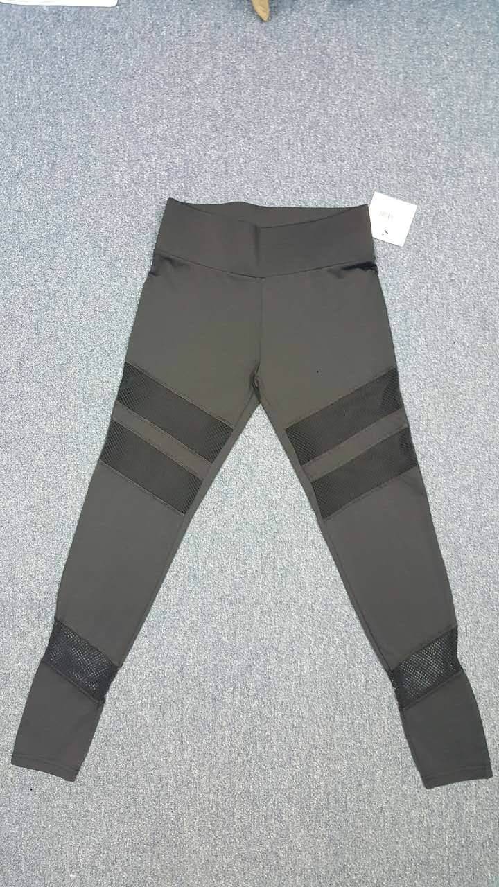 Ladies gym mesh leggings