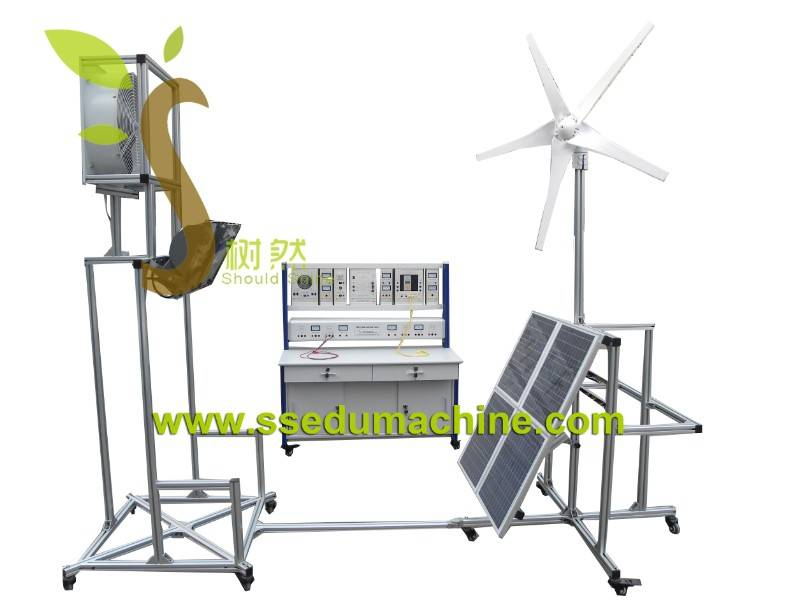 Educational Equipment Solar And Wind Trainer Renewable Training Equipment