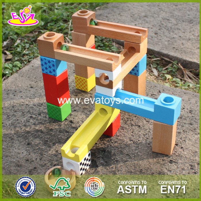 2017 New design wooden building blocks toys educational wooden building blocks for kids best wood