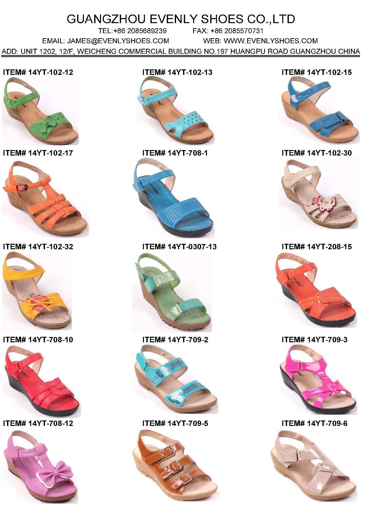 comfortable children sandals