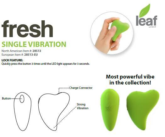 Leaf+ Life+ (28115) Single Vibration Woman Sex ToySex Toy
