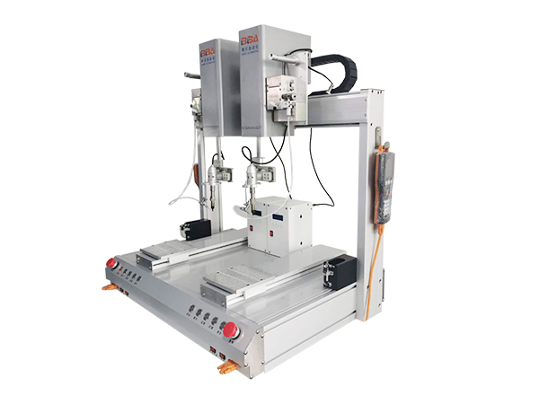 PCB Automatic Desktop Welding Machine Soldering with double system