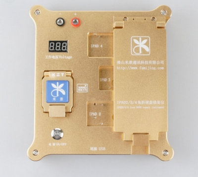 iPad 2 3 4 icloud unlock tool 32bit iphone 4S 5 5S 5C NAND Test fixture