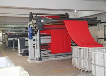 Stenter for Farice Heat Setting Process