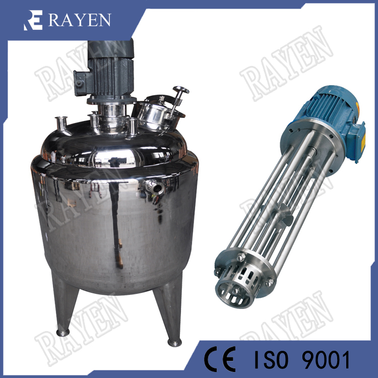 SUS304 Stainless Steel Paint Mixing Tank Emulsifier Tank High Shear Mixer