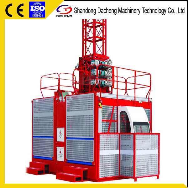 Factory Supplier Chinese 1-4 ton Construction Hoist For Sale