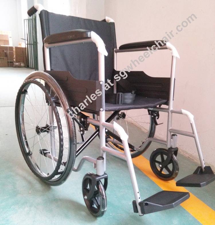 Best selling steel manual wheelchair from China big manufacturer