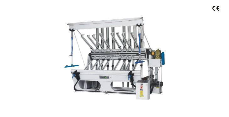 Semi-auto oil pressure clamp machine