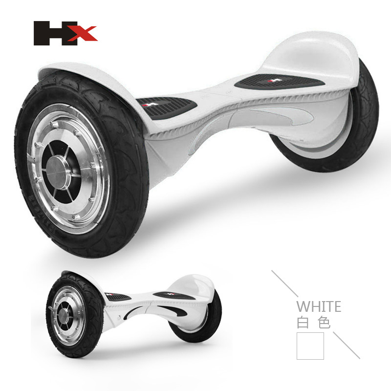 LED light hoverboard 10 inch 2 wheel electric scooter with Bluetooth Speaker
