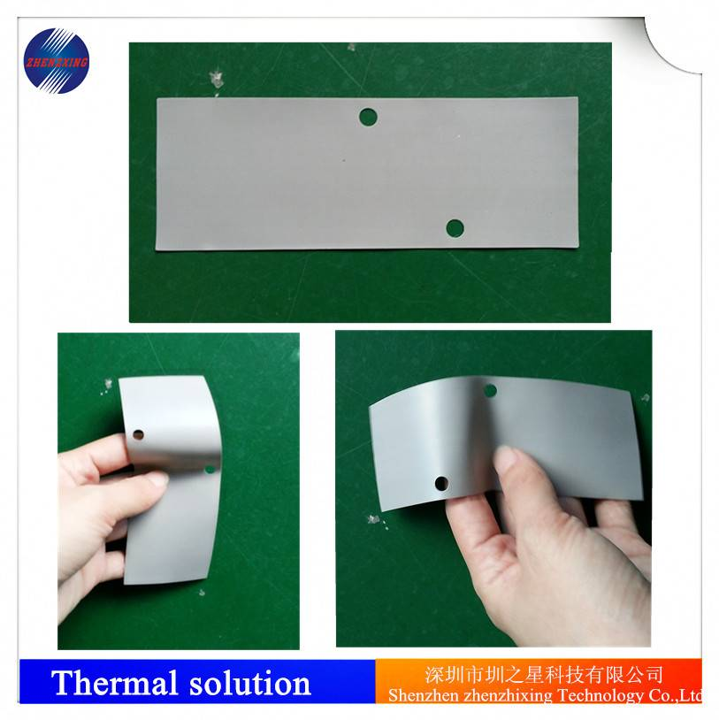 thermal silicone pad with high thermal conductivity