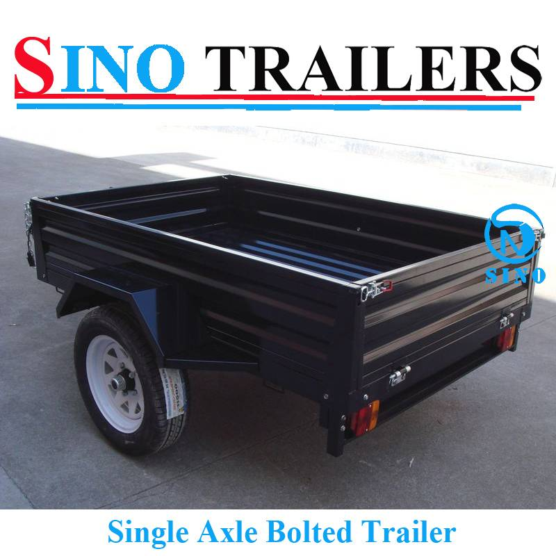 Light Duty Family Use Bolted Garden Trailer