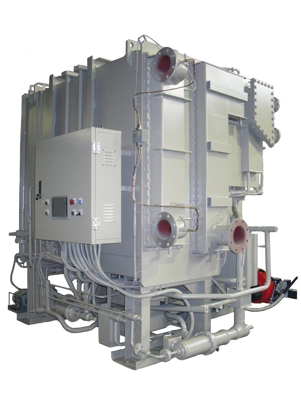 Hybrid Dual Absorption Chiller-Heater