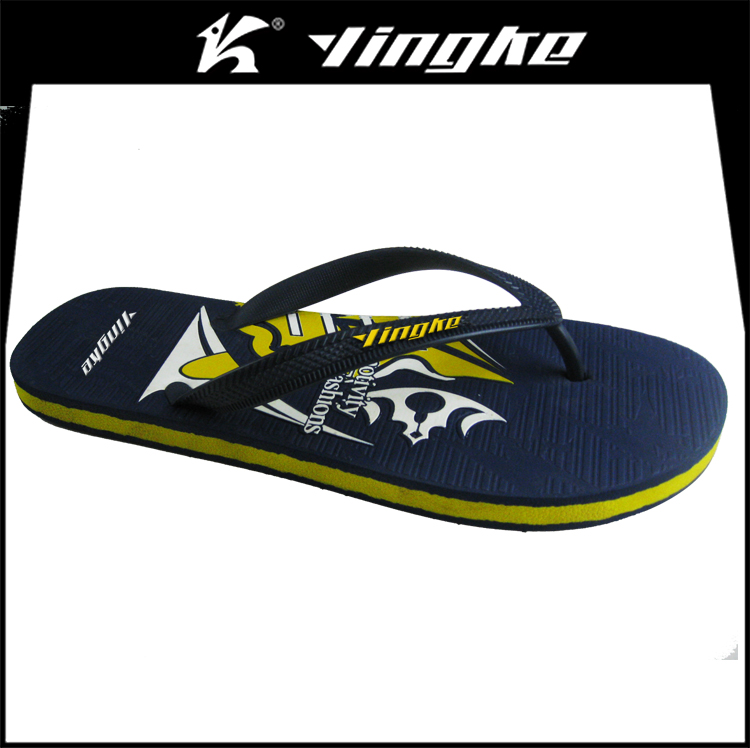 Factory price beach use summer slippers eva men custom flip flop sandal