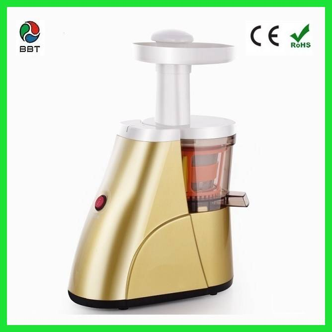 150w 80RPM professional Low-speed slow juicer, with 100% copper motor with CE
